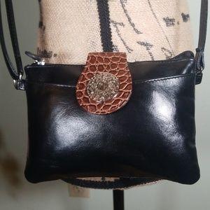 Giani Bernini Leather Crossbody Bag